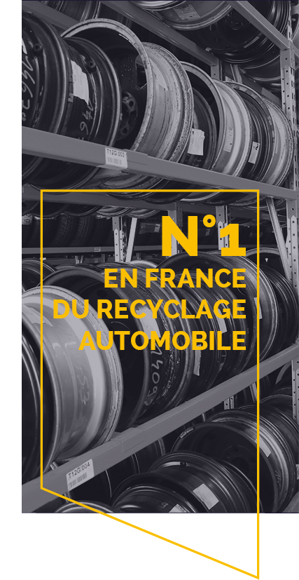N1 en france du recyclage automobile